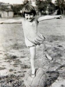 Йоханна Кваас (Johanna Quaas) - в детстве